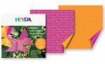 Papier do origami 10x10cm Heyda motylki,kwiaty x40 w sklepie internetowym papierA4.pl