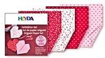 Papier do origami 20x20cm Heyda serduszka x40 w sklepie internetowym papierA4.pl