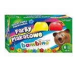 Farby plakatowe Bambino - 6 kolorów x1 w sklepie internetowym papierA4.pl
