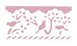 Dziurkacz ozdobny brzegowy - 608 018 XL - ptaki x1 w sklepie internetowym papierA4.pl