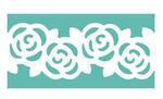 Dziurkacz ozdobny brzegowy - 609 002 róże x1 w sklepie internetowym papierA4.pl