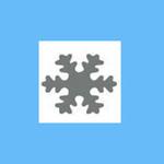 Dziurkacz ozdobny 1,6 cm - płatek śniegu 2 x1 w sklepie internetowym papierA4.pl