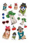 Naklejki HERMA Magic 3095 kolorowe psy x1 w sklepie internetowym papierA4.pl