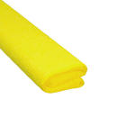Krepa kolorowa, bibuła marszczona 04 żółta x1 w sklepie internetowym papierA4.pl