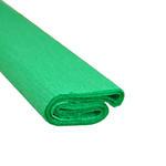 Krepa kolorowa, bibuła marszczona 23 zielona x1 w sklepie internetowym papierA4.pl