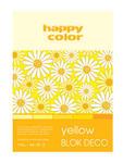 Blok A5 Happy Color Deco Yellow 170g 20k x1 w sklepie internetowym papierA4.pl