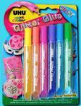 Klej UHU Creative Glitter Glue Shiny 6e x1 w sklepie internetowym papierA4.pl