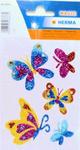 Naklejki HERMA Magic 6666 motylki brokatowe x1 w sklepie internetowym papierA4.pl
