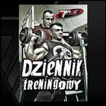 Dziennik treningowy i dietetyczny 2w1 TREC NUTRITION w sklepie internetowym CentrumKulturystyki.pl