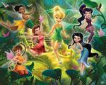 Fototapeta Disney Fairies Wróżki Dzwoneczek w sklepie internetowym Regdos.com.pl