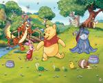 Fototapeta Disney Winnie The Pooh Kubuś w sklepie internetowym Regdos.com.pl