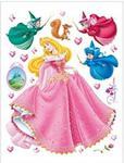 Naklejki Duża Naklejka Disney Princess AURORA Księżniczka w sklepie internetowym Regdos.com.pl