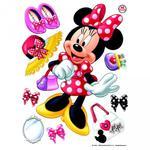 Naklejki Duża Naklejka Myszka Mini Disney Minnie Mouse w sklepie internetowym Regdos.com.pl