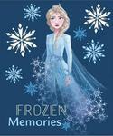 Pled Koc Kocyk polarowy Kraina Lodu 120x140cm Frozen Disney w sklepie internetowym Regdos.com.pl