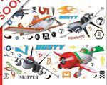 Naklejki Disney Planes Samoloty zestaw naklejek w sklepie internetowym Regdos.com.pl