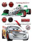 Naklejki Duża Naklejka Cars 2 Auta Francesco w sklepie internetowym Regdos.com.pl