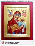 Duża ikona bizantyjska - Grecka Matka Boska Wielce łaskawa (2S) w sklepie internetowym Artdeco.sklep.pl