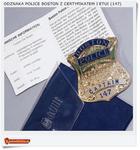 Odznaka BOSTON POLICE Captain 147 w sklepie internetowym Artdeco.sklep.pl