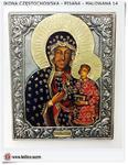Matka Boska Częstochowska Ikona malowana w koszulce (14) w sklepie internetowym Artdeco.sklep.pl