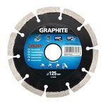 Graphite Tarcza diamentowa do cięcia spawana laserowo 125x2,2mm 57h606 w sklepie internetowym Narzedziak.pl