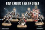 Figurki Grey Knights Paladin Squad w sklepie internetowym SuperSerie.pl
