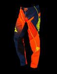 SPODNIE KENNY TRACK 2016 neon orange / blue w sklepie internetowym Inter-Luk