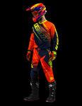 KOMPLET KENNY TRACK 2016 neon orange / blue w sklepie internetowym Inter-Luk