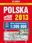 Polska Atlas samochodowy 1:300 000 w sklepie internetowym Ksiazki-medyczne.eu