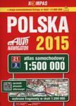 Polska Atlas samochodowy 1:500 000 w sklepie internetowym Ksiazki-medyczne.eu