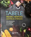 Tabele składu i wartości odżywczej żywności w sklepie internetowym Ksiazki-medyczne.eu