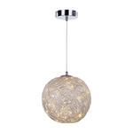 Italux lampa wisząca Stello MD16003050-1A srebrna LED 9W 3000K 30cm w sklepie internetowym Elektryczny.com