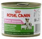 Royal Canin Starter Mousse Mother&Babydog karma mokra - mus, dla suk w czasie ciąży, laktacji oraz szczeniąt puszka 195g w sklepie internetowym Taka karma