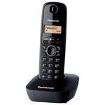 Telefon bezprzewodowy Panasonic KX-TG1611PDH // Wysyłka w 24h - Gwarancja dostępności / 19 lat najwyższej jakości - czarny w sklepie internetowym Awa24.pl
