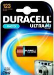 Bateria fotograficzna Duracell DL 123A Ultra - 1 sztuka na blistrze // Wysyłka w 24h - Gwarancja dostępności w sklepie internetowym Awa24.pl