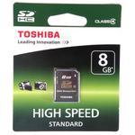 Karta pamięci Toshiba SDHC 8GB Class 4 // Wysyłka w 24h - Gwarancja dostępności / 20 lat najwyższej jakości / Doradztwo przed zakupem w sklepie internetowym Awa24.pl