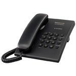 Telefon Panasonic KX-TS500PDB czarny // Wysyłka w 24h - Gwarancja dostępności / 19 lat najwyższej jakości - czarny w sklepie internetowym Awa24.pl