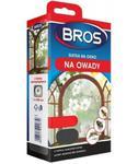 Siatka moskitiera na okno 100x100 Czarna BROS w sklepie internetowym egarden24.pl