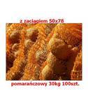 Worek raszlowy z zaciągiem 50x78cm pomarańczowy 30kg 100szt. w sklepie internetowym egarden24.pl