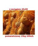 Worek raszlowy z zaciągiem 40x60cm pomarańczowy 15kg 100szt. w sklepie internetowym egarden24.pl