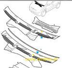 Podszybie plastikowe Corsa C w sklepie internetowym Opel gm renimix