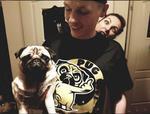 Koszulka Pies ODPUGUJ SIĘ! Mops w sklepie internetowym Psiakrew.pl