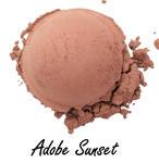 Adobe sunset- róż do policzków Rhea - odcień ciepły, kosmetyk mineralny w sklepie internetowym Rhea.com.pl