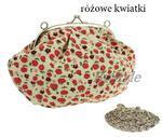Torebka na bigiel w kwiaty - retro w sklepie internetowym Bystyle.pl