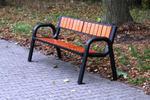 Ławka parkowa stalowa SPARTAN Prestige (ławka miejska) w sklepie internetowym Architekturaparkowa.pl
