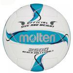 Piłka do siatkówki plażowej MOLTEN BV2500-FBO Biało - niebieska - Biało - niebieska w sklepie internetowym Sporti.pl