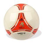 Piłka Adidas TANGO 12 Glider biało-czerwona - Biało- czerwony w sklepie internetowym Sporti.pl