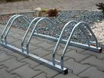 Stojak na rowery ECHO 3 na 3 rowery ocynkowany w sklepie internetowym Sporti.pl