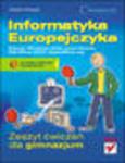 Informatyka Europejczyka. Zeszyt ćwiczeń dla gimnazjum. Edycja: Windows Vista, Linux Ubuntu, MS Office 2007, OpenOffice.org w sklepie internetowym Helion.pl