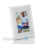 Ramka drewniana biała (na zdjęcie 13x18 cm) Ramka drewniana biała (na zdjęcie 13x18 cm) w sklepie internetowym Fotokoszyk.pl