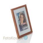 Ramka drewniana jasny brąz (na zdjęcie 13x18 cm) Ramka drewniana jasny brąz (na zdjęcie 13x18 cm) w sklepie internetowym Fotokoszyk.pl
